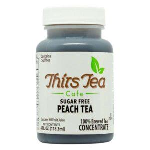 ThirsTea Cafe Peach Tea